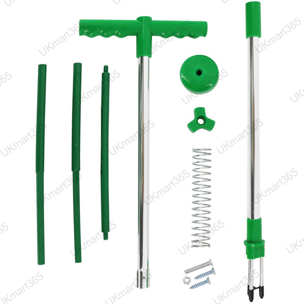 Garden twist weeder lightweight weed remover puller tool for Garden tool with spikes